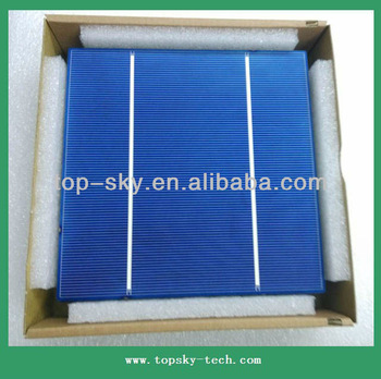 TP-156P Hottest sell 6x6'' multicrystalline solar cell supplier high efficiency&quality polycrystalline solar cell