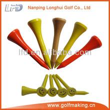Golf wooden tee peg