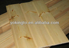 Unfinished pine wood wall panel/ flooring board