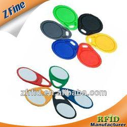 2013 latest custom rfid key fob/ custom rfid key fob waterproof ring epoxy supplier in shenzhen