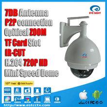 IR CUT High Quality Vandal/Waterproof Dome Cameras