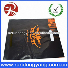 Hot sale full colour printing luxury plastic shopping bag for sale