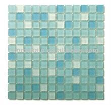 Blends spring ville glass tiles bathroom