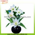 2013 novidade china red white arranjos de flores