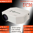 Global 1st !!!HD 1080p support UC30 china 3d beamer,home beamer, mini beamer