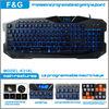 hot sell!!computer multimedia gaming keyboard/led keybord