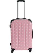 china cheap bag luggage 2014 hot selling super light ABS+PC film trolley luggage suitcase