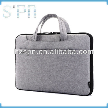 Handle style laptop briefcase fashion laptop sleeve tablet case