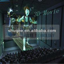 High definition 3D movie 4D cinema film , customize film for 5D 6D 7D cinema