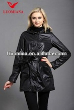 2014 oem high quality hoody winter trench coat with fashion style 811B065