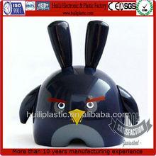 Pájaro de juguete de plástico de la figura; personalizado de aves de plástico elhombredejuguetes; venta al por mayor de aves de plástico figura