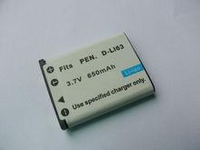 best price from shenzhen factory for Pentax camera battery of digital battery D-LI63