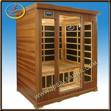 3 person infrared sauna room