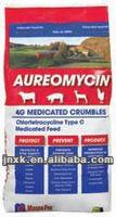 clortetraciclina para aves e animais