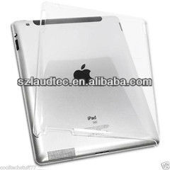 New Transparent Clear Crystal Snap-on Hard Back Cover Case for Apple iPad 2 3 4 the New iPad Work with Smart Cover
