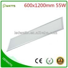 60x120 cm 55w led panel lighting