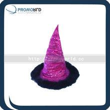 Shiny 100% Polester/Felt/Plush Tall Hat Party Hat Carnival Hat Crazy Hat