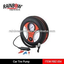 RBZ-054 air pump for car tires car tire pump plastic mini pump