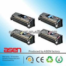 Compatible Toner Cartridge HP Q3960A/Q3961A/Q3962A/Q3963 for HP Color LaserJet 2820/2840/2550