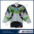 La universidad/colegio adolescentes camiseta de hockey/desgaste de diseño libre, de bajo coste