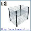 Praça metal mesh caixas de armazenamento hsx-1868