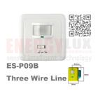 High quality infrared sensor switch ES-P09(PIR+MIC)