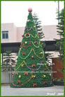 lighted christmas cone tree