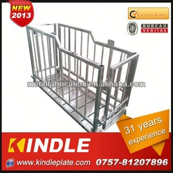 Kindle High Precise Custom stainless steel pig cage Manufacturer with 31 Years Experience Made in China