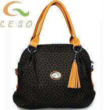 2013 Popular handbag good quality style women canvas bag
