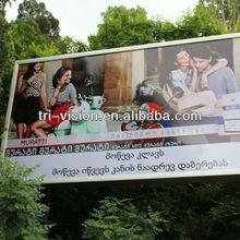 advertising aluminium lightbox scrolling billboard outdoor