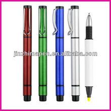 roller ball pen and highlighter/fluorescent gel pen