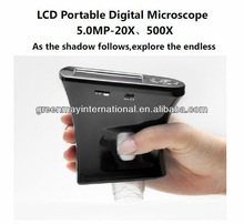 M35 500X Portable digital LCD hand hold Magnifier