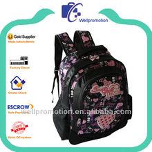 Wellpromotion cheap fashion school rucksack