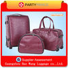 Newest Design High Quality Vip Leather Luggage Set Sale Factory