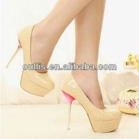 beautiful stileto high heel women dress shoes 2013 PM2237