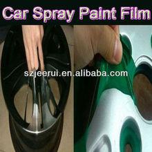 2014 New Popular Fast Dry Plastic Dip Spray Paint,Car Aerosol Spray Paint Removable film