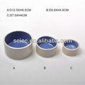 Decorativos de cerámica perro boles/cuencos venta al por mayor en 3 tamaños