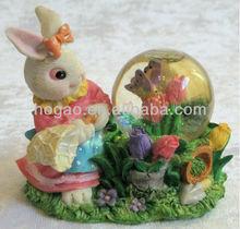 resin snow globe for Easter Craft