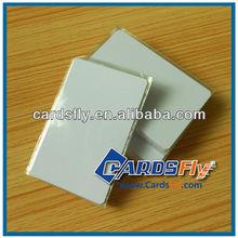 blank card inkjet printable pvc card/white card manufacturer