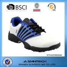 2013 latest customized cheap fashion golf shoe