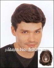 New Arrival Natural Looking Best Selleing 100%human hair toupee men's wig