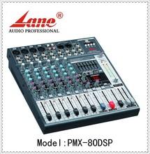 Lane *PMX-80DSP professional 99 DSP digital audio mixer console