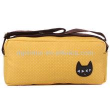 Fahion korean outdoor stylish hobo waxed canvas bag