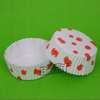 Circular paper cupcake liners with membrane/white cupcake liners/fancy paper cupcake liners#130