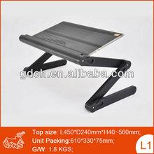 Metal Aluminum Folding Notebook Stand folding laptop computer lap desk