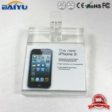 High quality display acrylic cell phone shelf