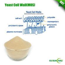 High quality Yeast cell wall / Mannan Oligosaccharide / MOS