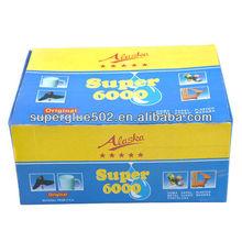 small plastic bottle super glue for Africa market
