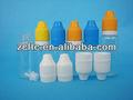 البلاستيك pet زجاجة بالقطارة مع غطاء للحصول على مثلث 10ml البريد سيج النفط