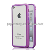 tpu pc bumper for iphone 5c, 100pcs per order as paypal accepted